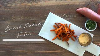 Learn how to make sweet potato fries this week