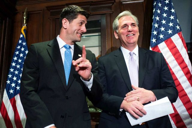 Ryan Appears to Signal Support for McCarthy as His Successor