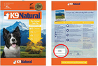 K9 Natural Ltd. recalls pet food due to listeria
