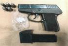 Man allegedly tosses gun during BPD chase