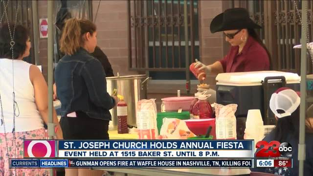 St- Joseph Church holds annual fiesta to raise money for the whole parish