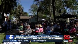 2nd annual Haggard Boxcar Music Festival