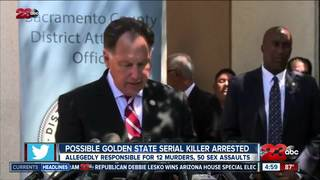 Suspected Golden State Killer behind bars