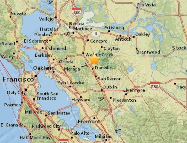 3.3 magnitude quake shakes San Francisco Bay area