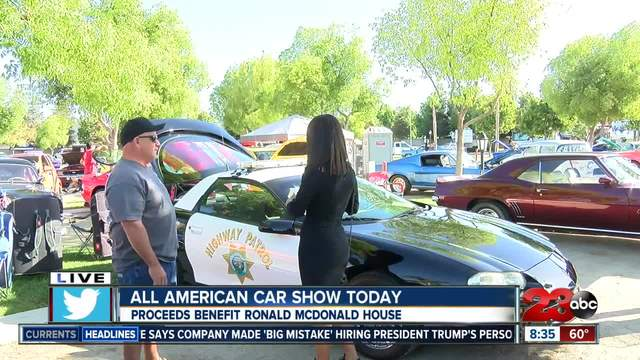 All American Car Show Supports Ronald McDonald House Turntocom - Bakersfield car show