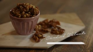 Candied nuts the perfect sweet and crunchy snack