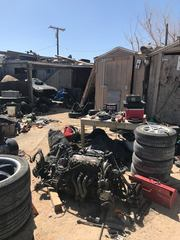 Mojave area CHP officers locate chop shop