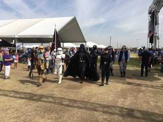 A forceful breakfast with the 501st Legion