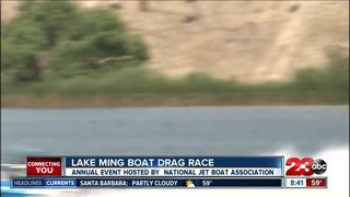 Drag boat race takes place at Lake Ming