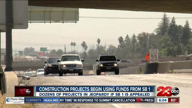 Gas Prices In California >> Caltrans to Begin Construction on SB 1 Project in Bakersfield - turnto23.com Bakersfield, CA