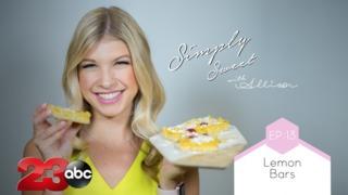 Simply Sweet Allison Lemon Raspberry Bars