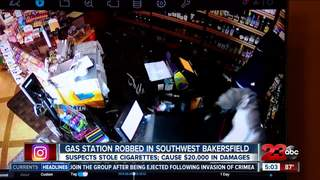 Thieves break into SW Bakersfield gas station
