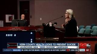Kern County officials push suicide prevention