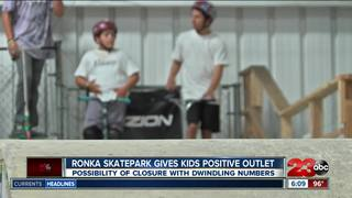 Skatepark facing closure due to low attendance