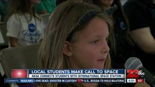NASA connects children with astronaut in space