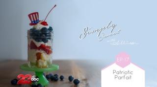 Simply Sweet Allison's Patriotic Parfait