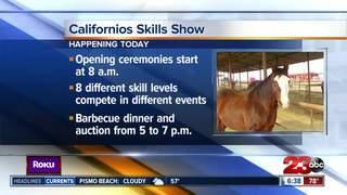 Horsemen and women showed off Californio skills