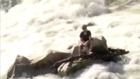 VIDEO: Man rescued from rock on Kern River