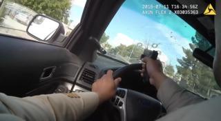 Las Vegas PD release pursuit, shootout video