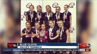 Volleyball team rallies around injured player
