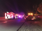 Car crashes into power pole in NW Bakersfield