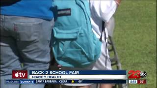 Dignity Health helps students with Back2School