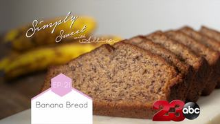 Learn to make moist, sweet banana bread