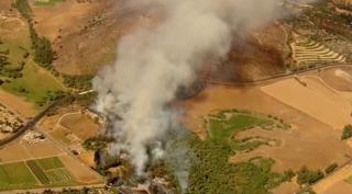 Fire breaks out near San Diego Zoo Safari Park
