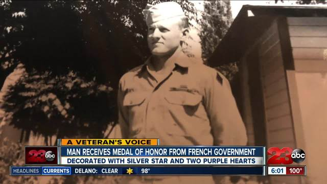 Local veteran honored for service during Normandy in WWII