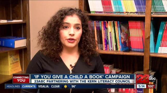 -If you give a child a book- campaign