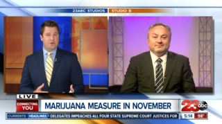 Voters in Kern faced with two pot measures...