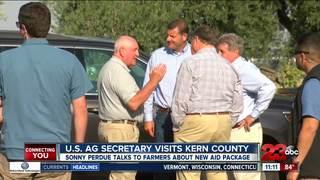 U.S. Ag Secretary visited Kern County