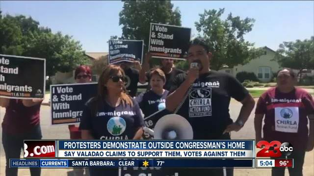 Congressman Valadao releases statement on protest outside his home
