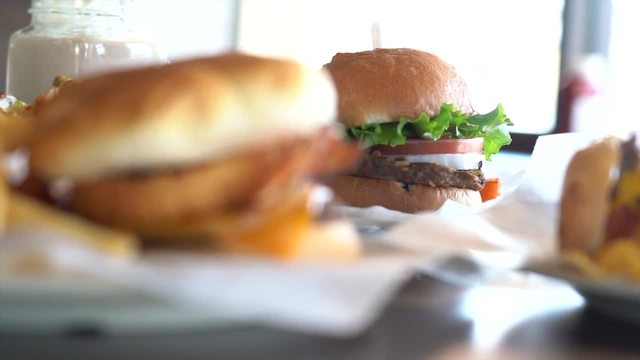 At The Table- Grill -N Burgers