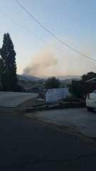 Vegetation fire burning near Tehachapi