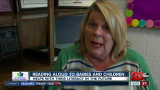 Reading to children early on improves literacy