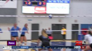CSUB volleyball win UCSB in Roadrunner Classic