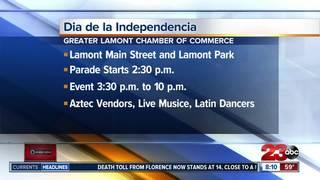 Lamont celebrating 13 Latin American countries