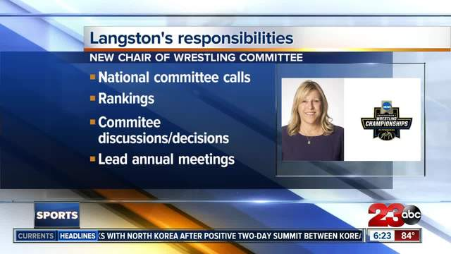 CSUB Athleticsu0027 Karen Langston named chair of NCAA Division I Wrestling Ch&ionships Committee  sc 1 st  23ABC News & CSUB Athleticsu0027 Karen Langston named chair of NCAA Division I ...