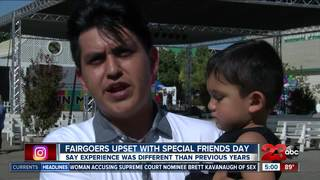 People upset with outcome of Special Friends Day