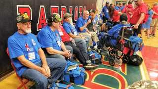 Honor Flight heads to D.C.