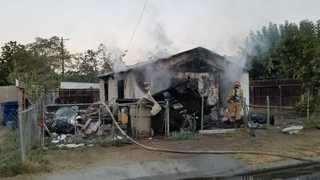 House fire in South Bakersfield