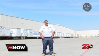 Local truck driver featured in commercial