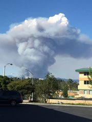 Charlie Fire burns 1200 acres, 0% contained
