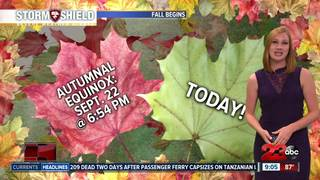 Summer-like temps for first week of fall