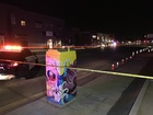One person in hospital after being hit by car