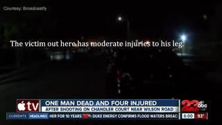Man killed in southwest Bakersfield shooting