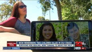 Mom remembers two children killed in DUI crash