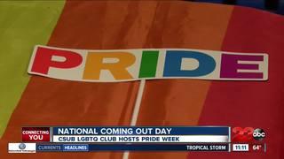 CSUB celebrating Pride Week