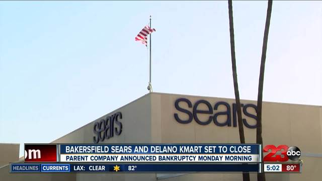 Bakersfield Sears and Delano Kmart set to close